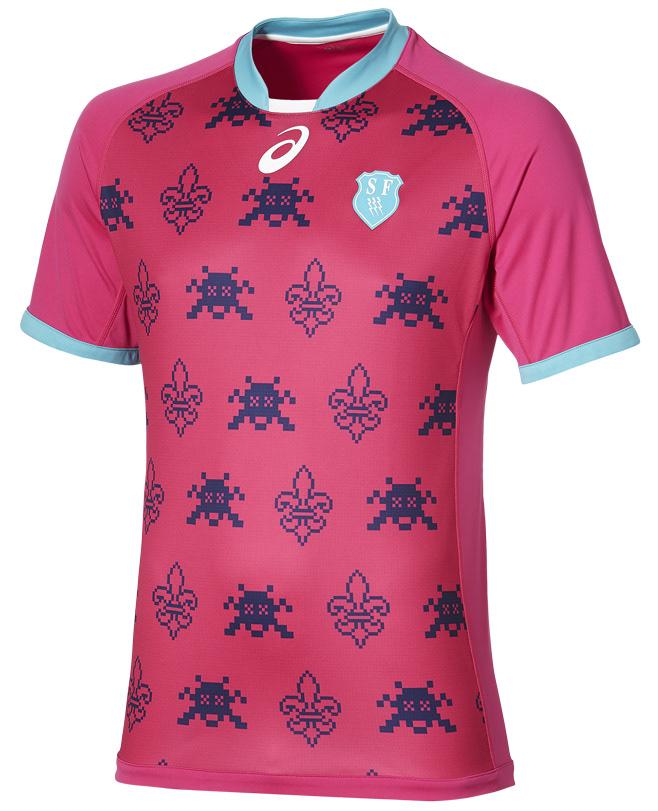 Stade Français ASICS 2020 Camisetas de local
