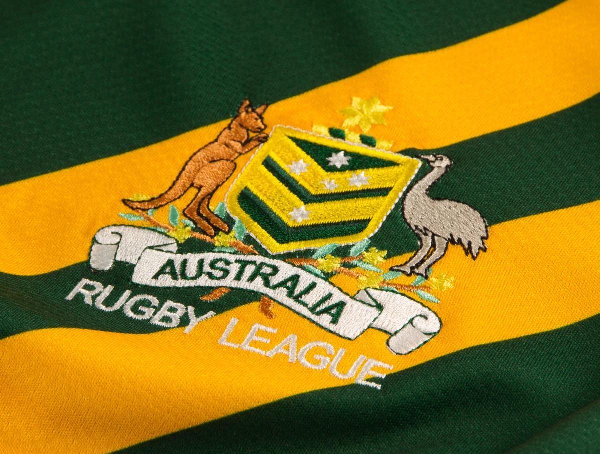 Camisa Australia Canguros Canterbury RLWC2020