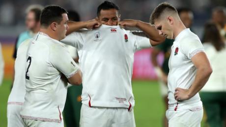 La reacción de Farrell ante la falta de jugadores de renombre en Inglaterra